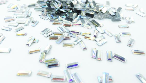 Grande cristal rect ngulo holograma