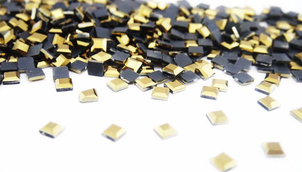 Grande cristal cuadro oro hematite