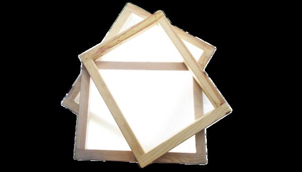 Mediana marcos de madera